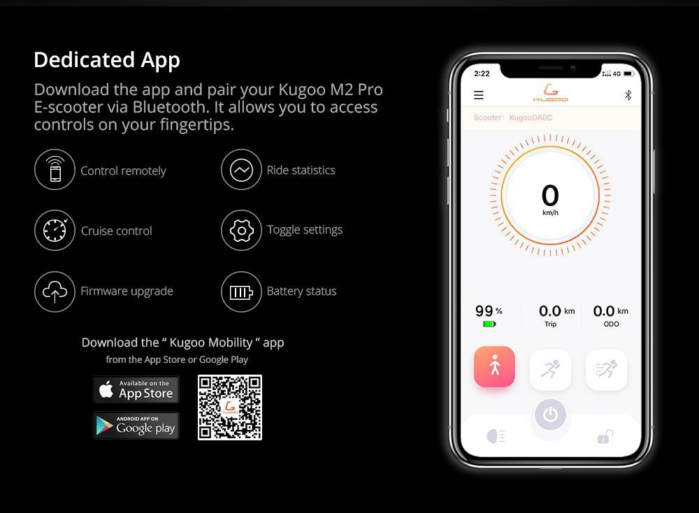 kugoo scooter app