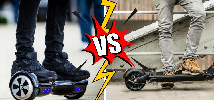 Hoverboard ou trottinette électrique
