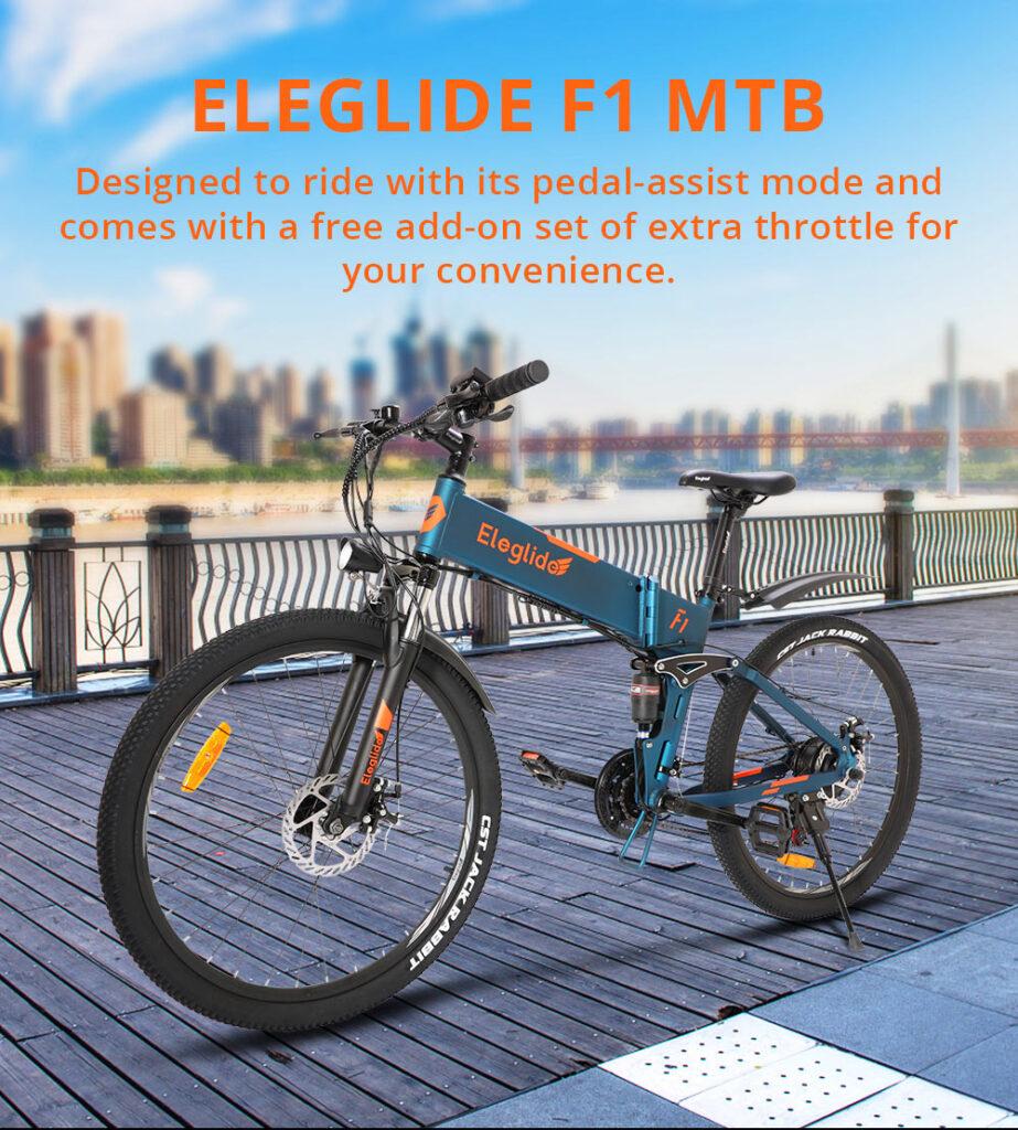e-bike pliant